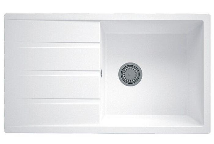 Кухонная мойка Fabiano Classic 86x50 XL Alpine White