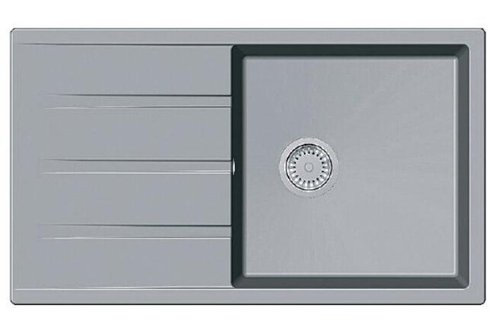 Кухонная мойка Fabiano Classic 86x50 XL Grey Metallic