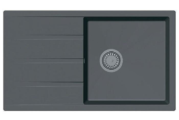 Кухонная мойка Fabiano Classic 86x50 XL Titanium
