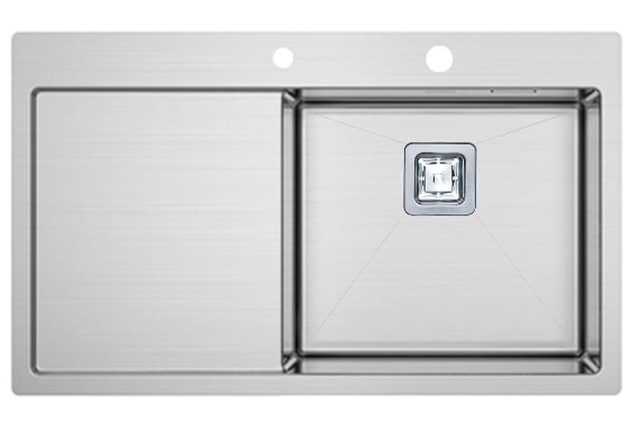 Кухонная мойка Fabiano TOP 79 Right (790x510) 1.2 мм
