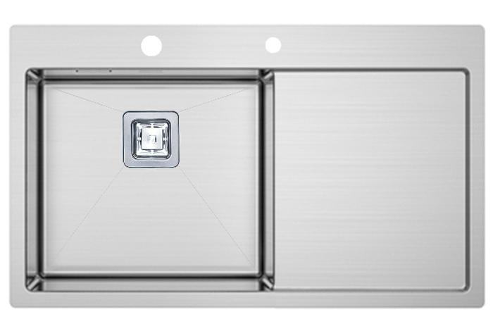 Кухонная мойка Fabiano TOP 79 Left (790x510) 1.2 мм