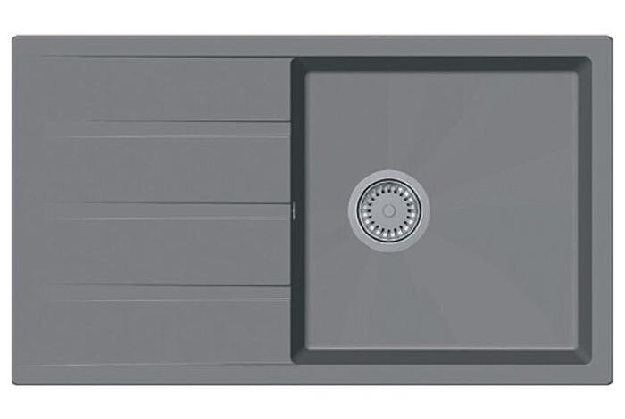 Кухонная мойка Fabiano Classic 86x50 XL Beton