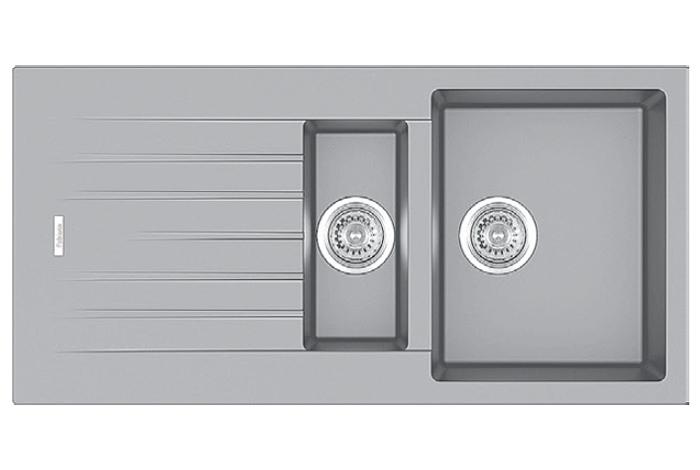 Кухонная мойка Fabiano Classic 100x50x15 Grey Metallic