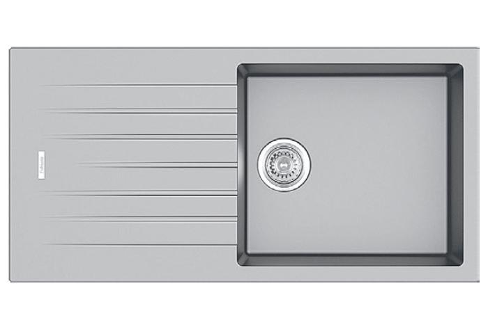 Кухонная мойка Fabiano Classic 100x50 Grey Metallic
