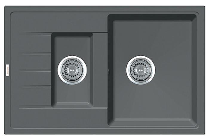 Кухонная мойка Fabiano Classic 78x50x15 Titanium