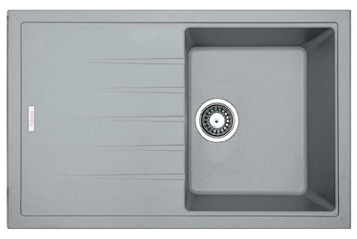 Кухонная мойка Fabiano Classic 78x50 Grey Metallic