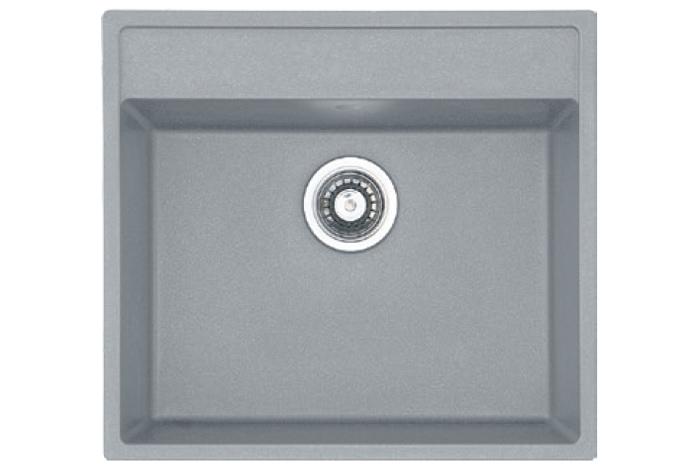 Кухонная мойка Fabiano Quadro 56x51 Grey Metallic