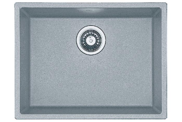 Кухонная мойка Fabiano Quadro 53x46 Grey Metallic