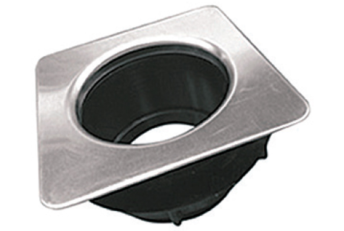 Адаптер FabianoSteel на утилизатор (квадратный)