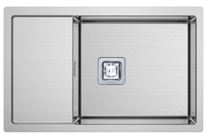 Кухонная мойка Fabiano Quadro 70 D (70x44) 1,20 мм