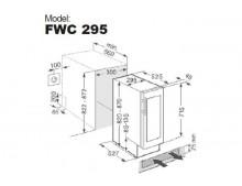 Винный шкаф Fabiano FWC 295 Black