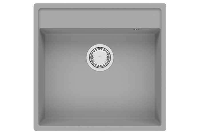 Кухонная мойка Fabiano Cubix 53x50 Grey Metallic