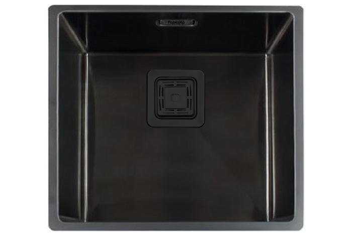 Кухонная мойка Fabiano Quadro 49 Nano Graphite