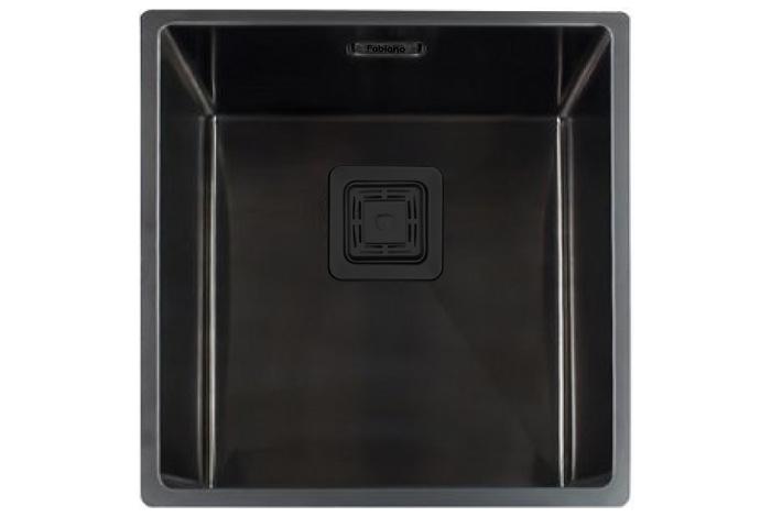 Кухонная мойка Fabiano Quadro 44 Nano Graphite