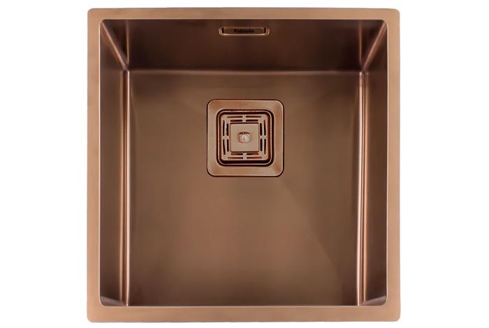 Кухонная мойка Fabiano Quadro 44 Nano Copper