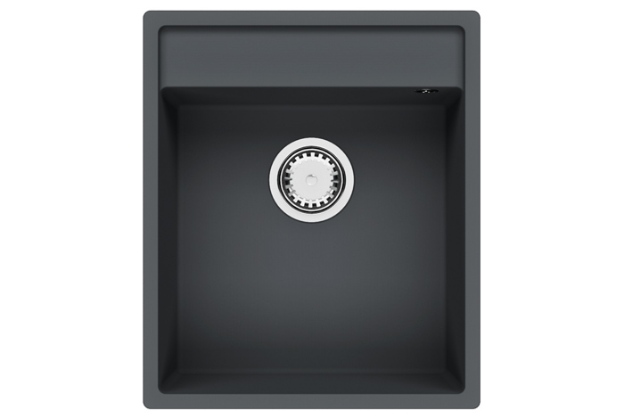 Кухонная мойка Fabiano Cubix 44x52 Titanium