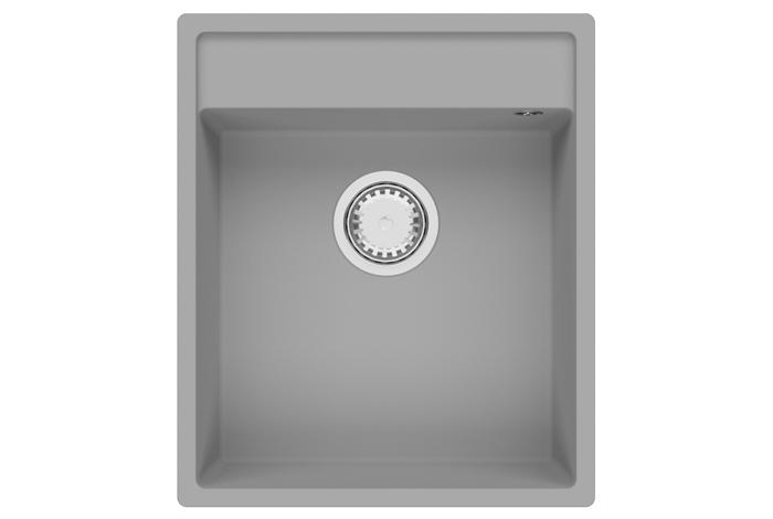 Кухонная мойка Fabiano Cubix 44x52 Grey Metallic