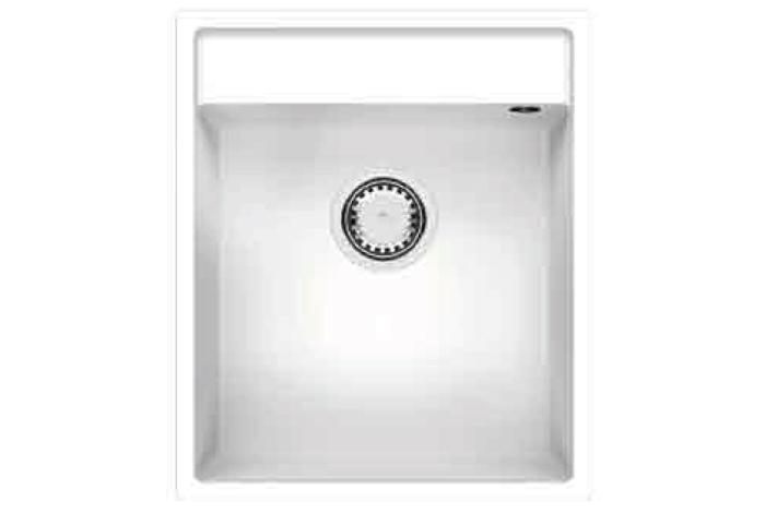 Кухонная мойка Fabiano Cubix 44x52 Alpine White