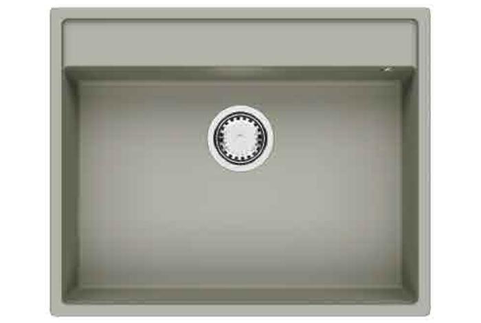 Кухонная мойка Fabiano Cubix 64x52 Truffle