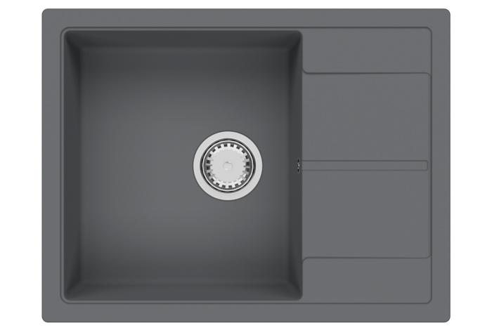Кухонная мойка Fabiano Cubix 65x50 Titanium