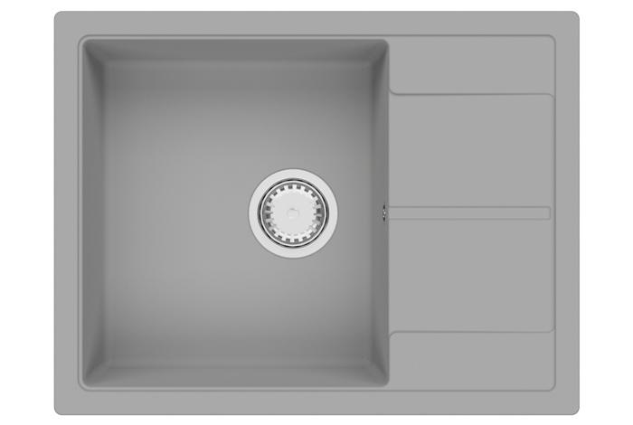 Кухонная мойка Fabiano Cubix 65x50 Grey Metallic