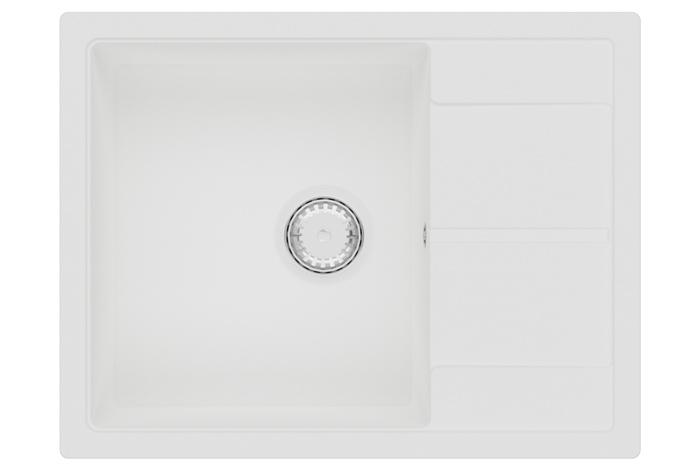 Кухонная мойка Fabiano Cubix 65x50 Alpine White