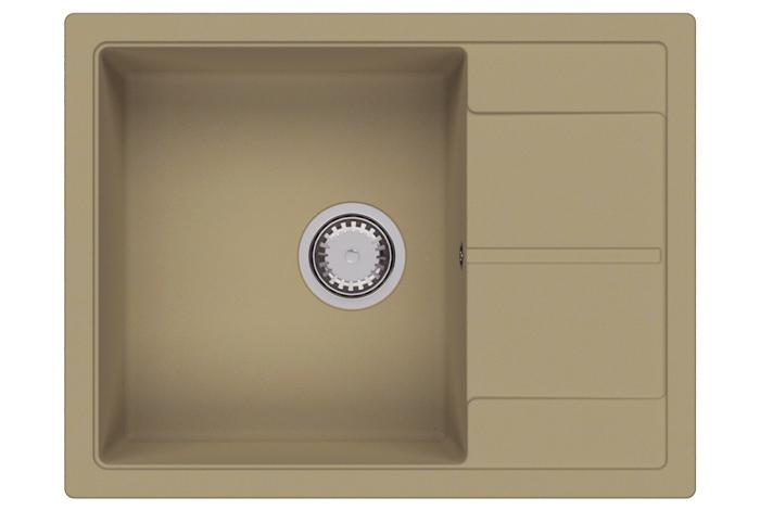 Кухонная мойка Fabiano Cubix 65x50 Beige