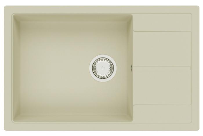 Кухонная мойка Fabiano Cubix 78x50 XL Cream
