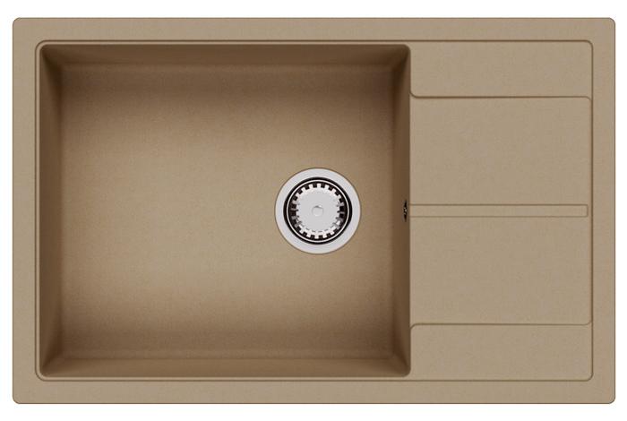 Кухонная мойка Fabiano Cubix 78x50 XL Beige