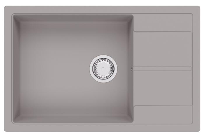Кухонная мойка Fabiano Cubix 78x50 XL Truffle