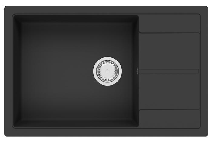 Кухонная мойка Fabiano Cubix 78x50 XL Antracit