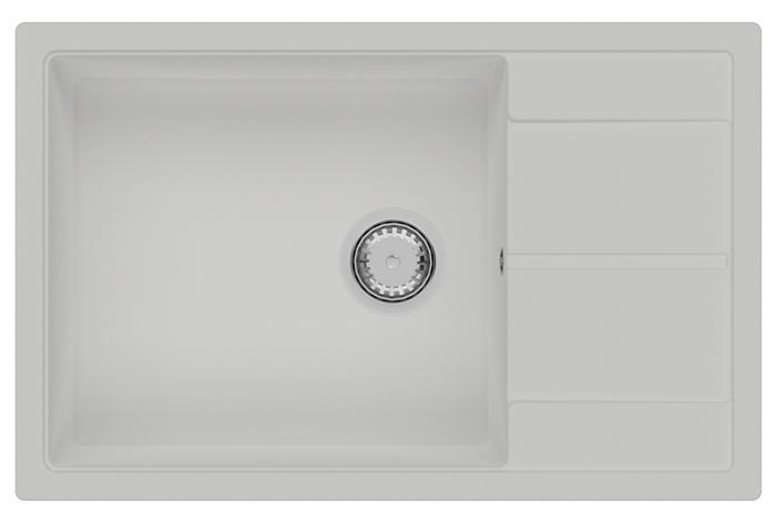 Кухонная мойка Fabiano Cubix 78x50 XL Alpine White