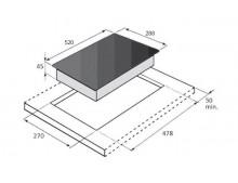 Индукционная варочная поверхность Fabiano SIH 321 Black