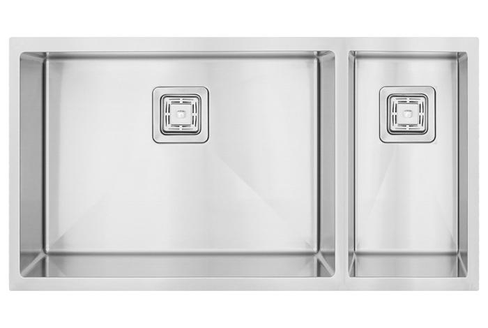Кухонная мойка Fabiano Quadro 74 Left (чаша слева) 1,20 мм