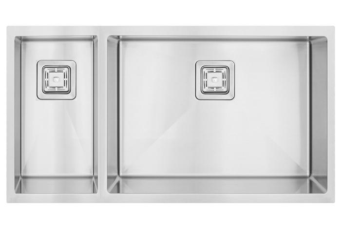 Кухонная мойка Fabiano Quadro 74 Right (чаша справа) 1,20 мм