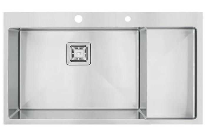 Кухонная мойка Fabiano TOP 79 XL Left (чаша слева) 1.2 мм