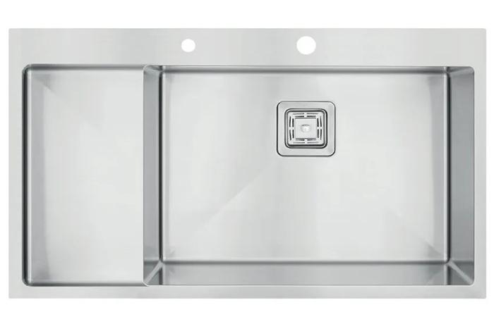 Кухонная мойка Fabiano TOP 79 XL Right (чаша справа) 1.2 мм