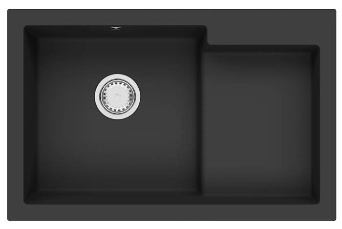 Кухонная мойка Fabiano Cubix 79x51 K Antracit