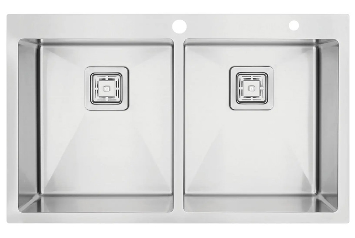 Кухонная мойка Fabiano TOP 86x2 (86x51) 1,2 мм