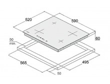 Индукционная варочная поверхность Fabiano FHI 3144 ITC
