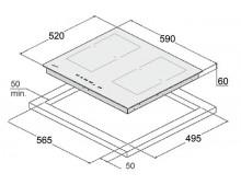 Индукционная варочная поверхность Fabiano FHI 3200 ITC Lux