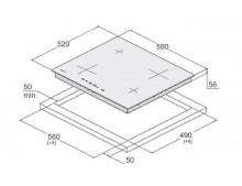 Индукционная варочная поверхность Fabiano SIH 642