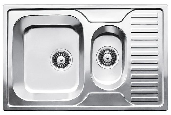 Кухонная мойка Fabiano BR780x500x15 брашированная