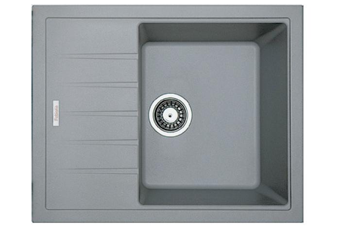 Кухонная мойка Fabiano Classic 62x50 Grey Metallic