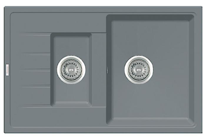 Кухонная мойка Fabiano Classic 78x50x15 Grey Metallic