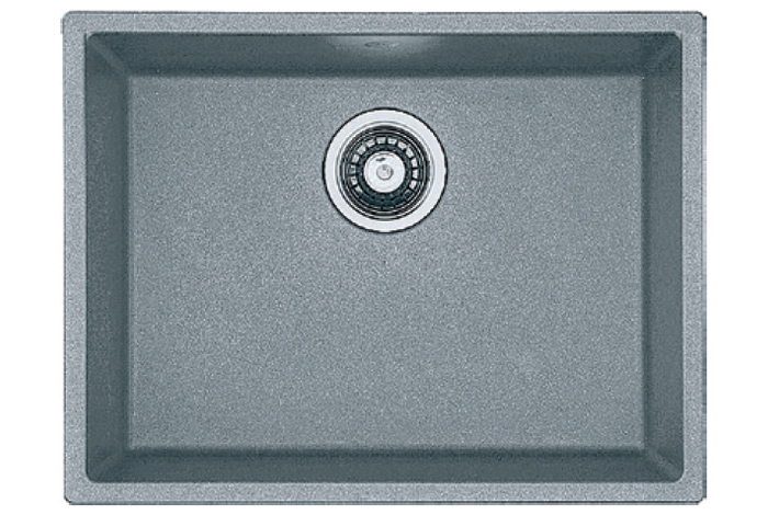Кухонная мойка Fabiano Quadro 53x46 Titanium