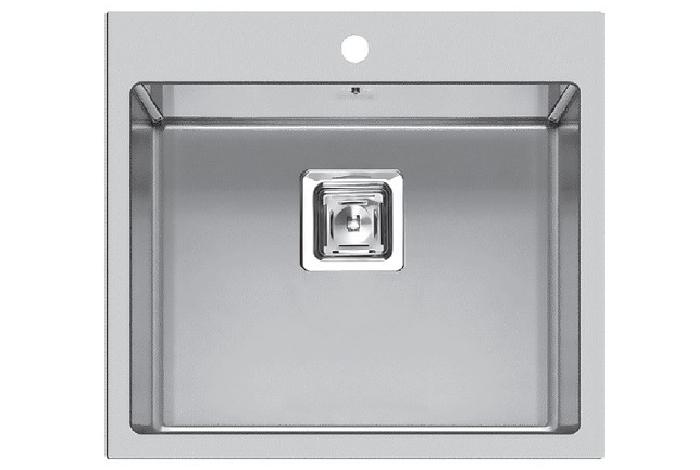 Кухонная мойка Fabiano Quadro TOP 56 R10 (560x510) 1,20 мм