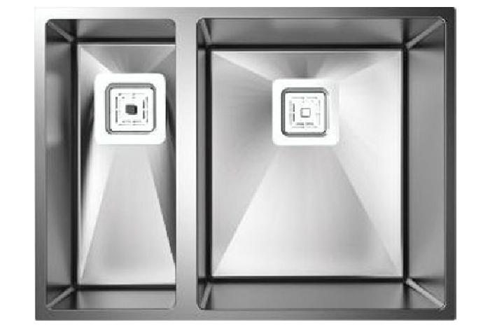 Кухонная мойка Fabiano Quadro 58 R10 (580x440) R 1,20 мм