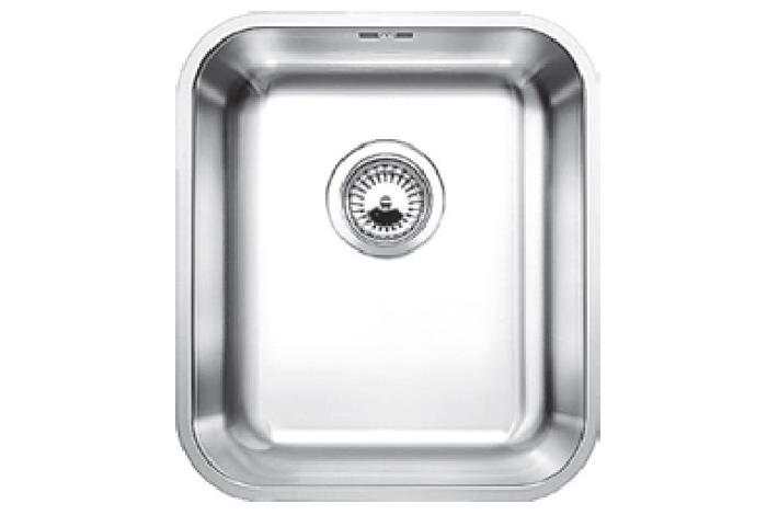Кухонная мойка Fabiano Sola 44 (440x380) матовая