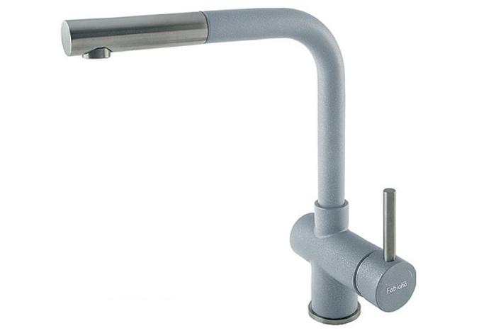 Смеситель кухонный Fabiano FKM 46P S/Steel Titanium
